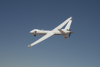NASA's Ikhana is being used for the development of regulations to integrate Unmanned Aircraft Systems in the National Airspace System. (Credits: NASA Photo)