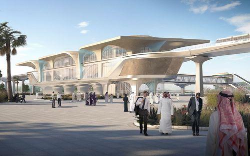 Ben van Berkel / UNStudio Designs over 30 Stations in Phase One of the Doha Metro Network (PRNewsFoto/UNStudio)