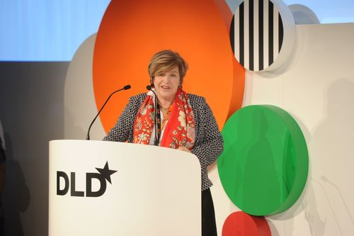 DLD founder and manager Steffi Czerny will welcome more than 150 international speakers at DLD15 to discuss the influence of continued digitalisation on society, the world of work, industry, mobility, art and design. (PRNewsFoto/Hubert Burda Media)