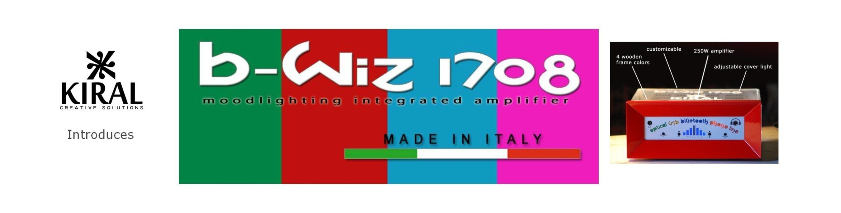 B-Wiz 1708 Takes Modern Amplifiers to the Next Level