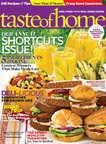 Get In (and Out of) The Kitchen This Summer with The Annual Taste of Home Shortcuts Issue.  (PRNewsFoto/Taste of Home)