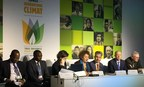 """Arçelik Group participated in COP21 in Paris. Being one of the private sector partners of """"Sustainable Energy for All"""" Initiative and United for Efficiency Project led by UNEP,  the company attended two sessions at the Energy Day, in support of a low-carbon and climate-resilient pathway. Focus on initiatives - Fuel Efficiency and Appliances panel was organized by SE4All - UN and World Bank. Energy Efficiency: The Game Changer - Interactive Energy Efficiency Accelerator panel was hosted by U4E - UNEP and Global Environment Facility. (PRNewsFoto/Arcelik Group)"""