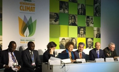 "Arçelik Group participated in COP21 in Paris. Being one of the private sector partners of ""Sustainable Energy for All"" Initiative and United for Efficiency Project led by UNEP, the company attended two sessions at the Energy Day, in support of a low-carbon and climate-resilient pathway. Focus on initiatives - Fuel Efficiency and Appliances panel was organized by SE4All - UN and World Bank. Energy Efficiency: The Game Changer - Interactive Energy Efficiency Accelerator panel was hosted by U4E - UNEP and Global Environment Facility. (PRNewsFoto/Arcelik Group) (PRNewsFoto/Arcelik Group)"