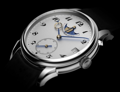 The Julies collection Reference 2340 Dial (PRNewsFoto/Urban Jurgensen) (PRNewsFoto/Urban Jurgensen)