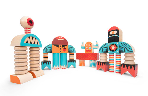 Uncle Goose(R) continues to redefine the toy wooden block category with the introduction of Stack and Scare, a ...