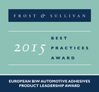 Frost & Sullivan recognizes Sika Automotive with the 2015 European Product Leadership Award for the company's high-quality adhesives.