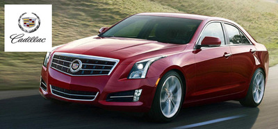 The 2014 Cadillac ATS is one of the popular new models available at Palmen Buick GMC Cadillac.  (PRNewsFoto/Palmen Buick GMC Cadillac)