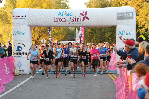 Aflac Announces Gear Up and Go! Sweepstakes in Support of Aflac Iron Girl Event Series