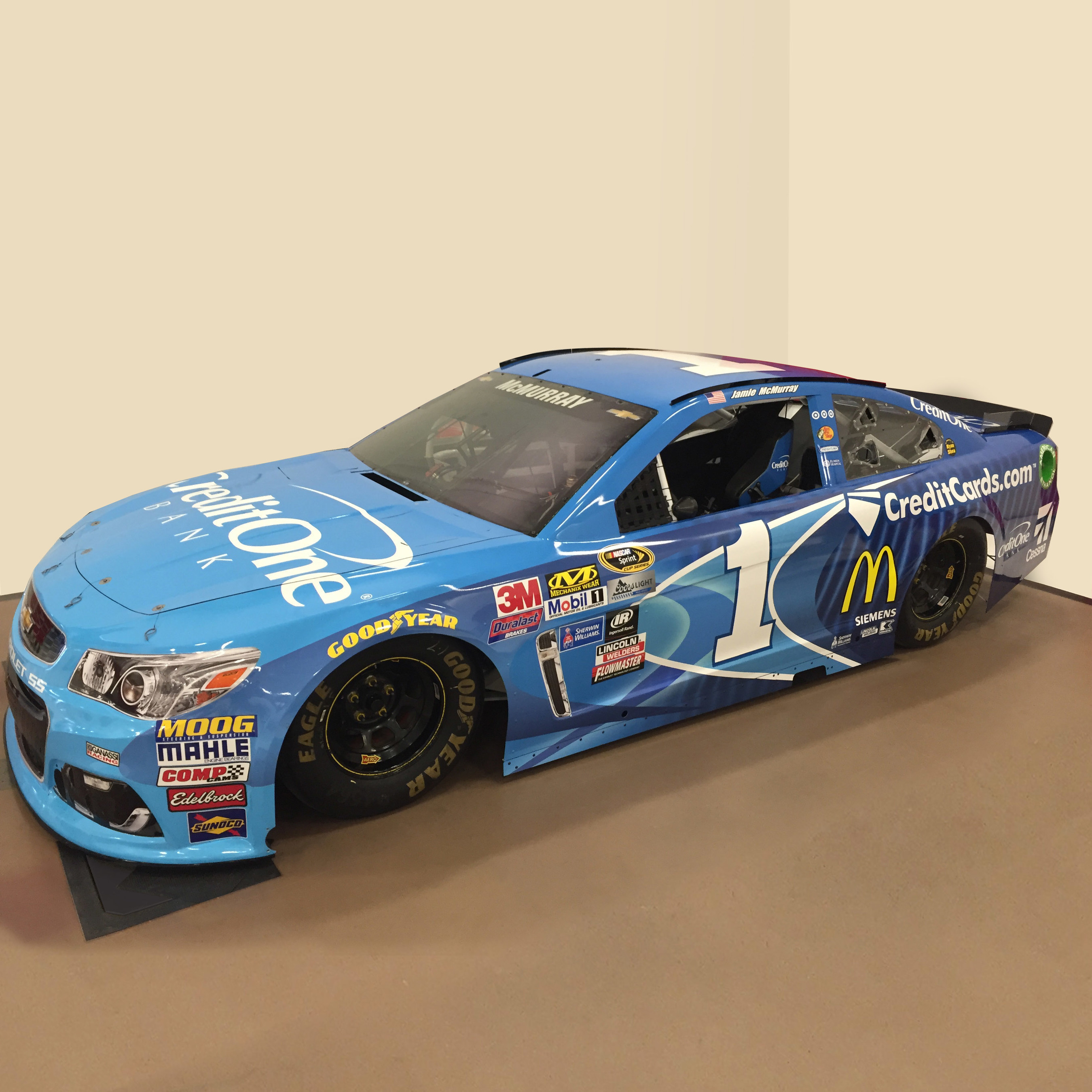 No.1 Credit One Bank Chevrolet SS