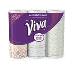 Viva Brand has teamed up with Hollywood actress and designer, Alyssa Milano, to transform traditional paper towels into kitchen couture with the launch of the Alyssa Milano Signature Designs by Viva Paper Towels.