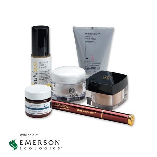 NINE NEW ALL-NATURAL FACIAL CARE BRANDS ARE NOW AVAILABLE AT EMERSON ECOLOGICS. This expanded selection of ...