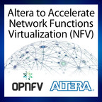"Altera will join the OPNFV to expand the use of FPGA accelerators in virtual machines running different software and processes on top of industry-standard, high-volume servers, storage and cloud computing infrastructure. ""FPGAs can be used to 'super-charge' virtual machine applications while saving on power, making them an excellent fit for the NFV industry,"" said Francis Chow, vice president and general manager of the Communications Business Unit for Altera."