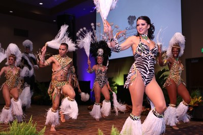 Hardrive Productions out of Orlando, Florida puts on a heart-pounding African performance for the grand opening of Kalahari Resorts and Conventions in the Pocono Mountains, Penn. Designed by the distinguished and storied choreographer, Pam Bolling, the group ushered in the authentically-African resort's first foray into the East Coast.  For more information, visit www.KalahariResorts.com.