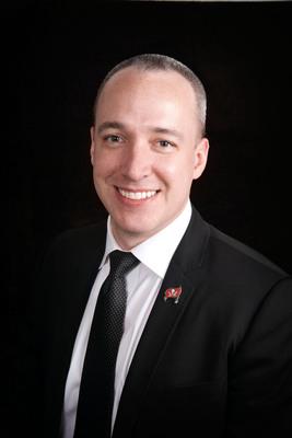Trevor R. Burgess, CEO.  (PRNewsFoto/C1 Bank)