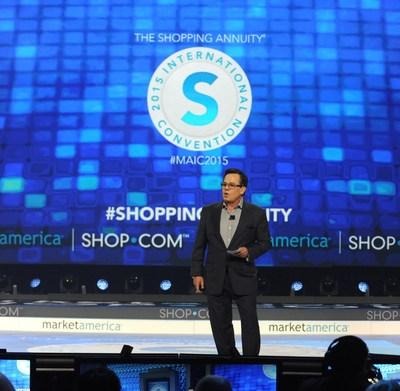 President & CEO of Market America | SHOP.COM, JR Ridinger, at the Market America | SHOP.COM International Convention