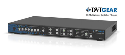 DVIGear Launches 4K MultiViewer Switcher / Scaler