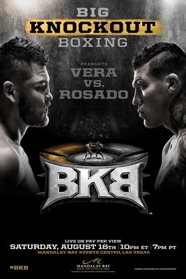 BKB Middleweight Championship Fight At Mandalay Bay Event Center on Saturday, August 16th