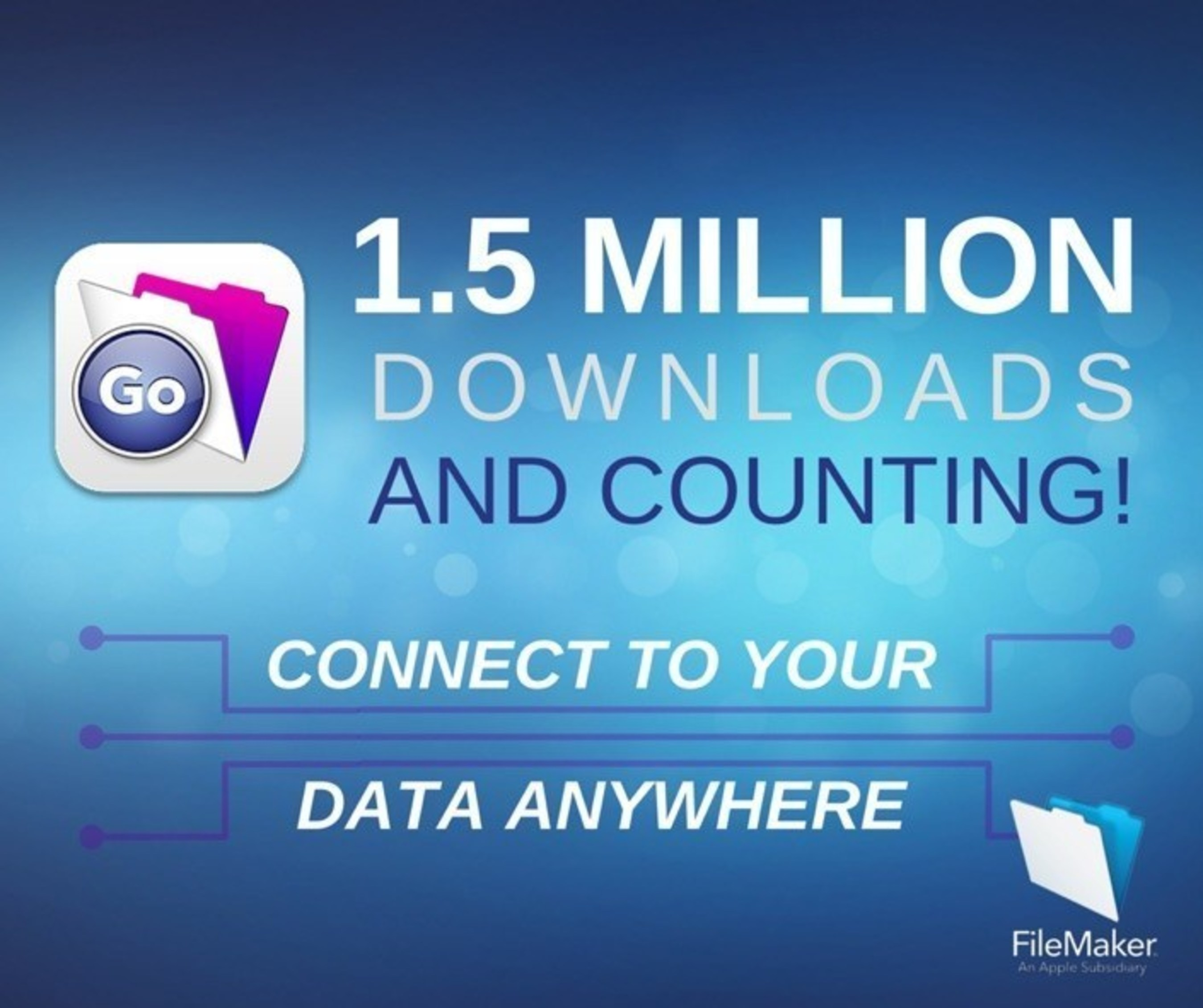 FileMaker Go for iPad and iPhone: Over 1.5 million downloads and counting