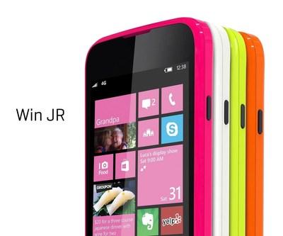 Win JR 1 (PRNewsFoto/BLU Products)