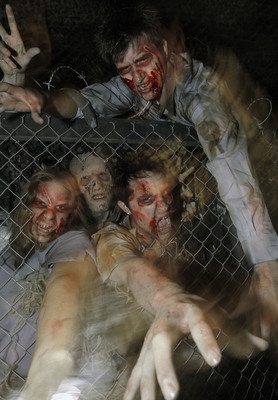 The ScareHouse Presents Pittsburgh Zombies: A New Haunted Attraction Based on Pittsburgh's Living Dead Legacy. Visit https://www.scarehouse.com.
