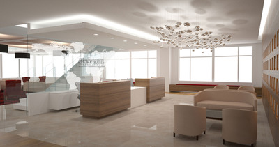 New Choice Hotels International HQ Reception Area.  (PRNewsFoto/Choice Hotels International, Inc.)