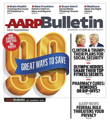 AARP Bulletin July/August Cover Image