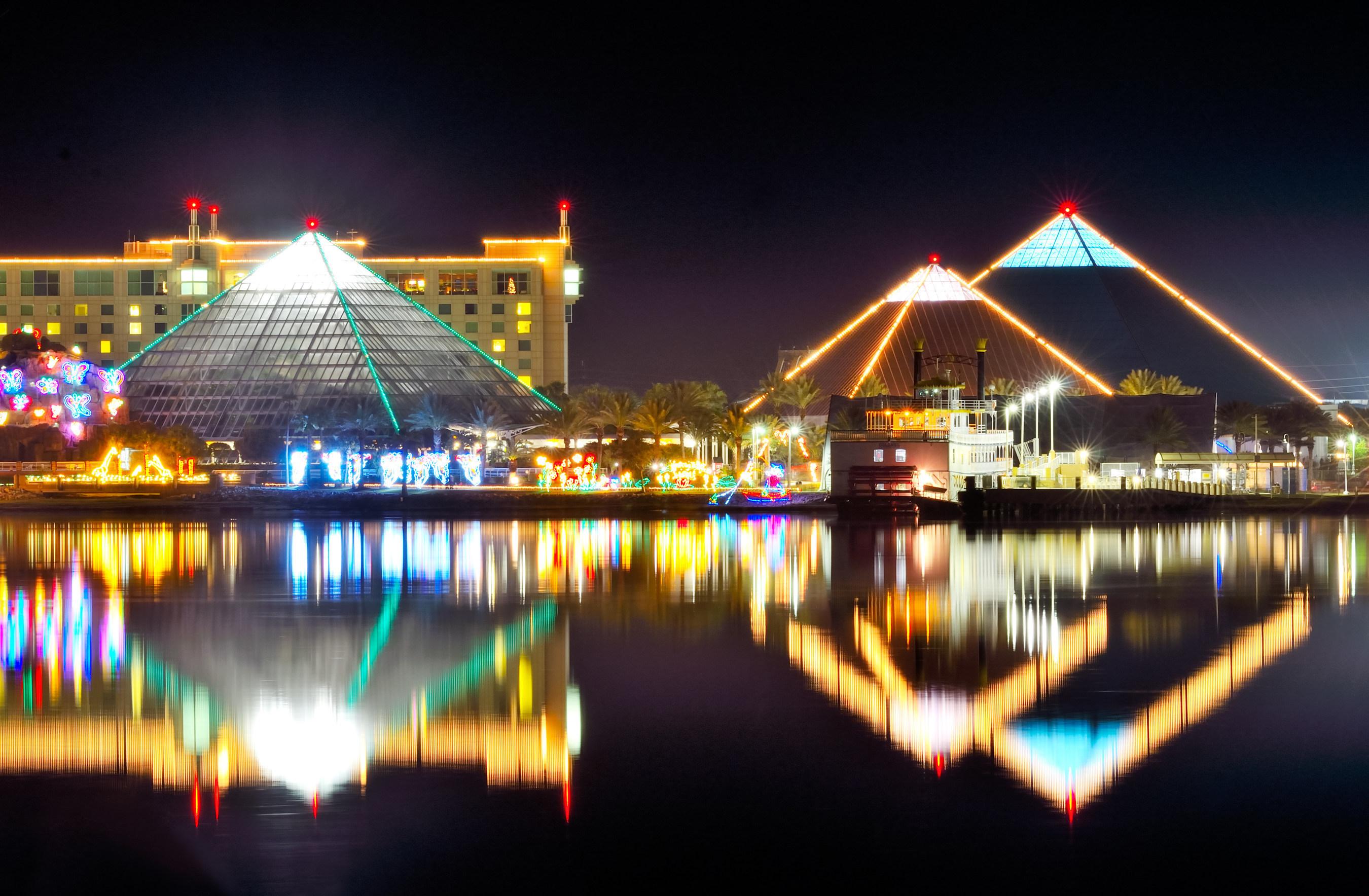 Festival of Lights opens at Moody Gardens in Galveston, TX on Saturday, November 12