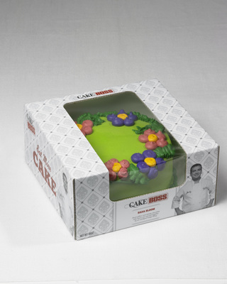 Cake Boss Bada Bloom buttercream cake