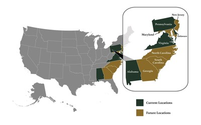 PHOENIX Rehabilitation and Health Services current and future locations