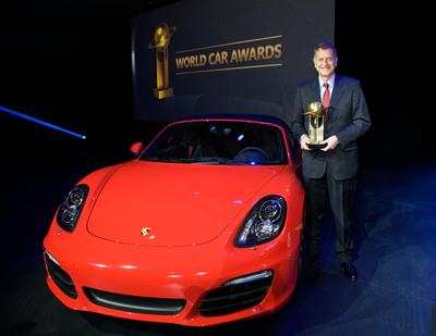 Porsche Boxster and Cayman named 2013 World Performance Car.  (PRNewsFoto/Porsche Cars North America)