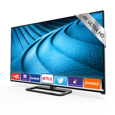 VIZIO Brings Ultra HD to Canada with Release of Award-Winning P-Series Ultra HD Full-Array LED Smart TV Collection. New Line-Up Combines Excellent Picture Quality and Advanced Performance for the Ultimate Entertainment Experience