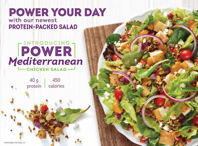 Wendy's Power Mediterranean Chicken Salad: The Easiest, Most Delicious ...