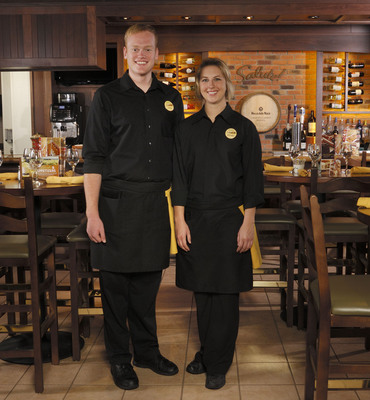 Olive Garden has updated the look of its more than 50,000 servers and hosts with an all-black uniform as part of the restaurant's ongoing brand transformation.