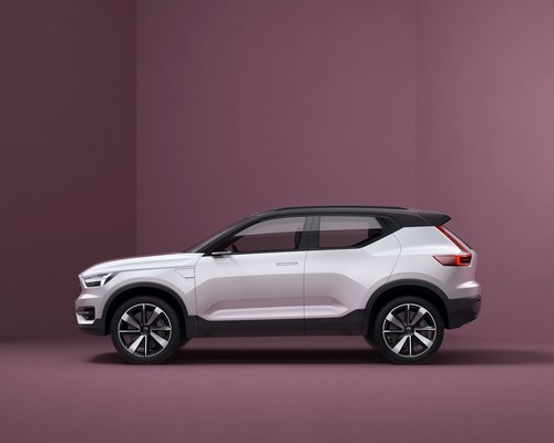 Volvo's Concept 40.1 is a promise of things to come from the premium Swedish car maker (PRNewsFoto/Volvo ...