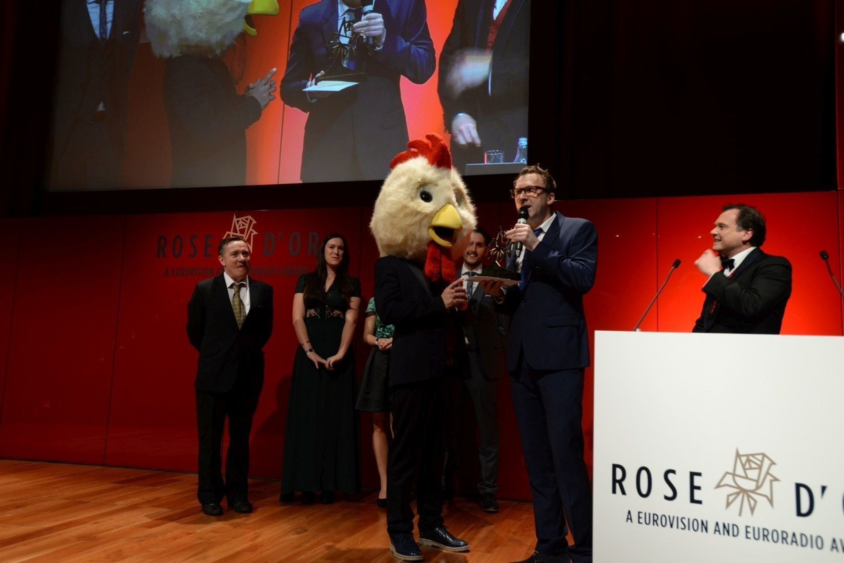 Wild Things wins Rose d'Or 2015 for TV Game Show (PRNewsFoto/European Broadcasting Union) (PRNewsFoto/European Broadcasting Union)