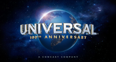 Universal Pictures 100th Anniversary Logo.  (PRNewsFoto/Universal Pictures)