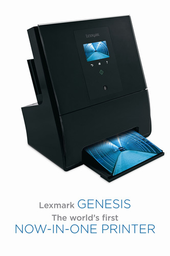 Lexmark Genesis: the industry's first inkjet AIO to deliver speed, style and SmartSolutions