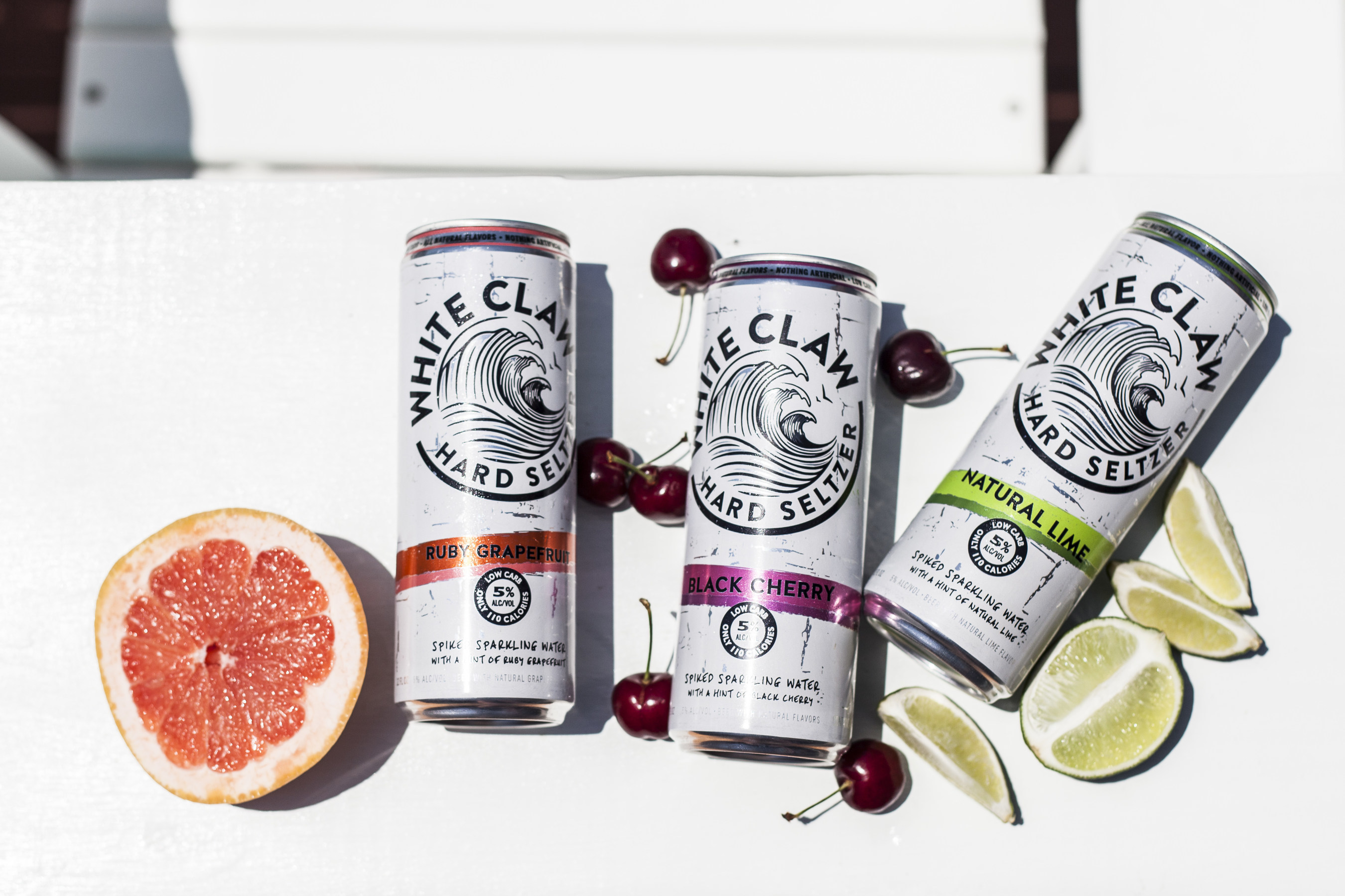 New White Claw Hard Seltzer Offers All-Natural Refreshment