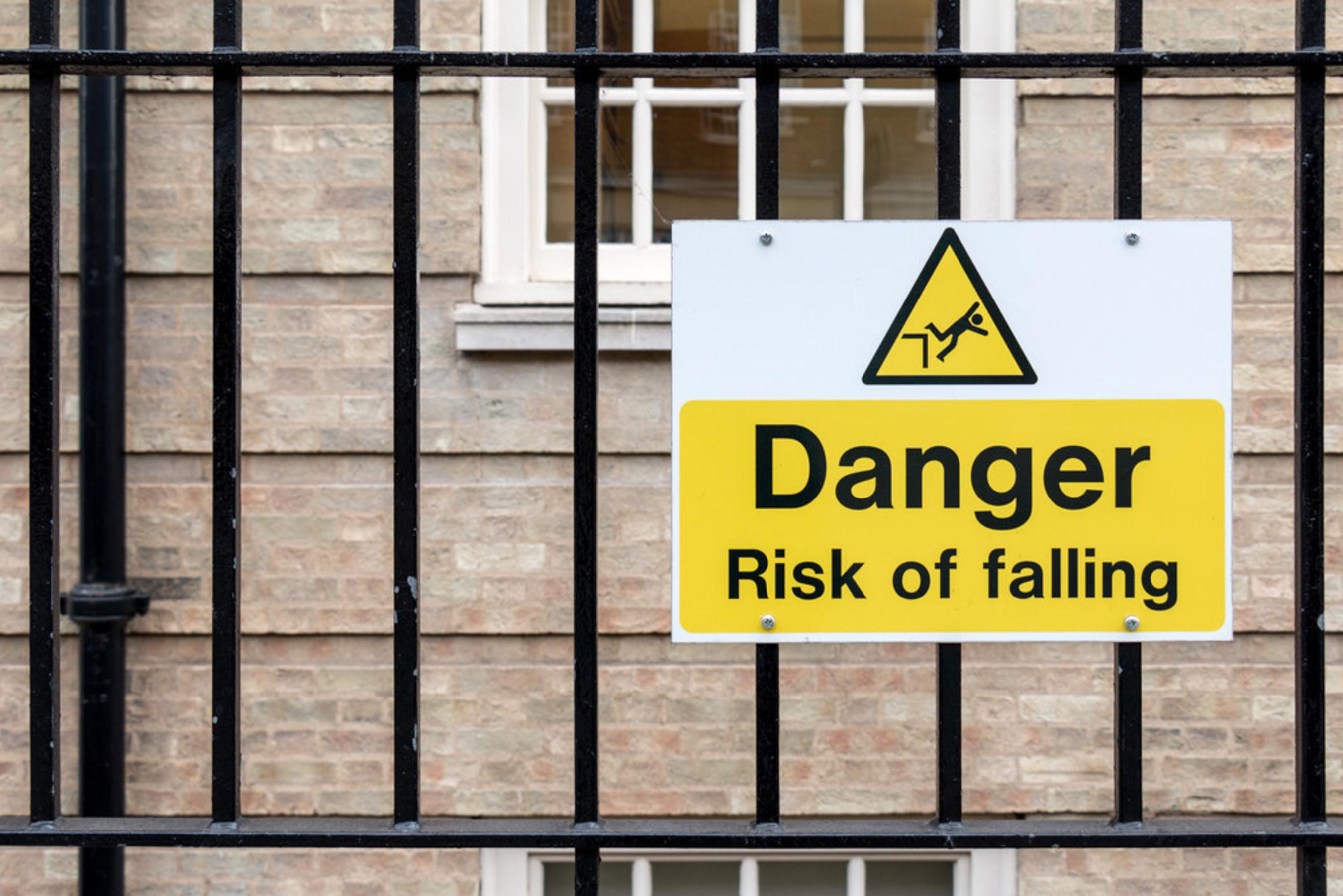 Danger Sign: Risk of Falling