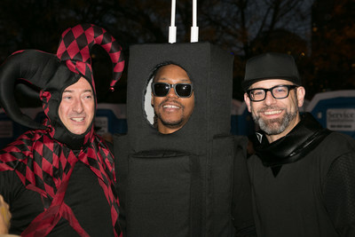 2015 Chicago Cultural Mile Halloween Gathering Creative Spirit honorees Joe Shanahan, Lupe Fiasco and Kevin Coval