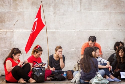 The Republican People's Party of Turkey issued a report saying that the economic situation in Turkey is ...