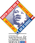 The Martin Luther King Jr. Federal Holiday is a National Day of Service, and a time to re-commit ourselves to serving each other and our communities.  (PRNewsFoto/Corporation for National and Community Service (CNCS))