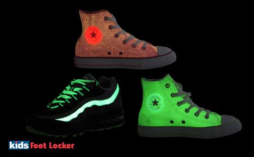 Kids Foot Locker Keeps Kids and Parents Glowing this Halloween