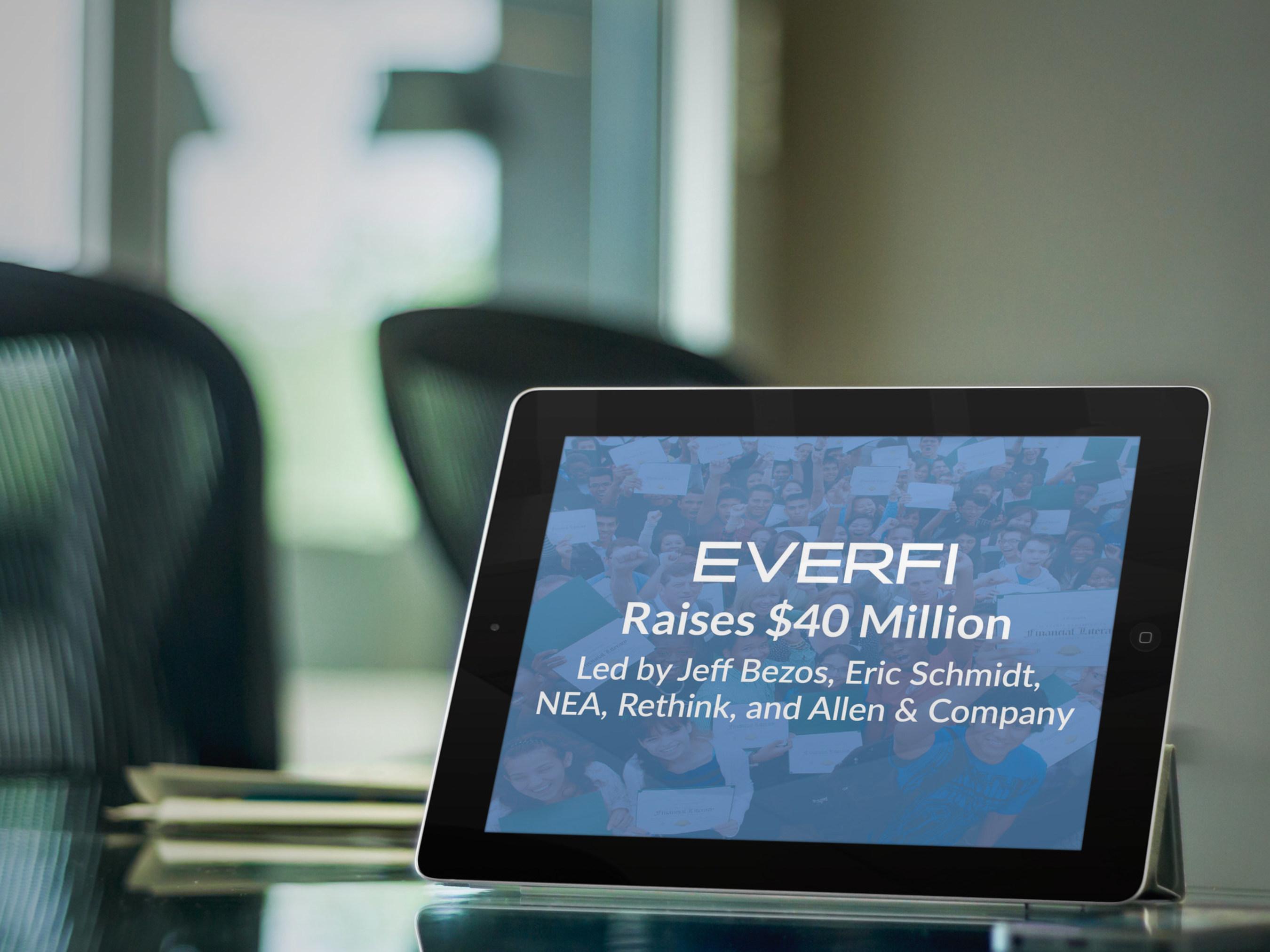 EverFi Raises $40 Million in Funding from Major Technology Leaders