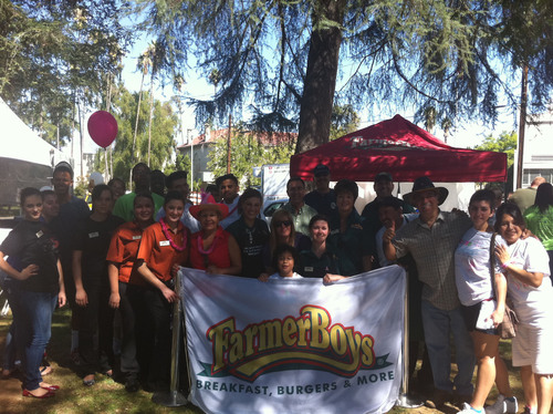 Farmer Boys Serves Over 3000 Burgers at the 5th Annual Believe Walk - Redlands, CA