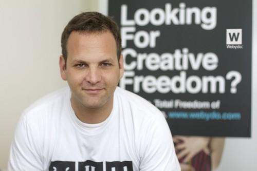 Webydo's CEO, Shmulik Grizim. (PRNewsFoto/Webydo)
