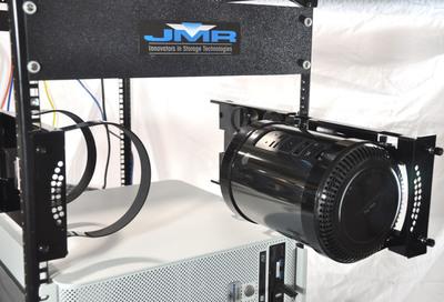 JMR ProBracket for Mounting the New Apple Mac Pro to Provide Shared Access.  (PRNewsFoto/JMR Electronics, Inc.)