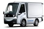 METRO(TM) all electric compact utility vehicle.