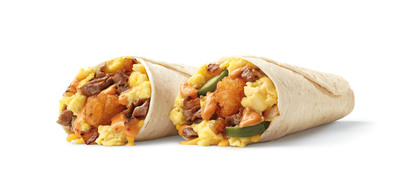 SONIC's limited-time Zesty Cheesesteak Breakfast Burrito and Smoked Chipotle Breakfast Burrito.