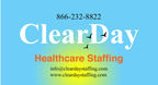 ClearDay Healthcare Staffing Logo.  (PRNewsFoto/ClearDay Healthcare Staffing)